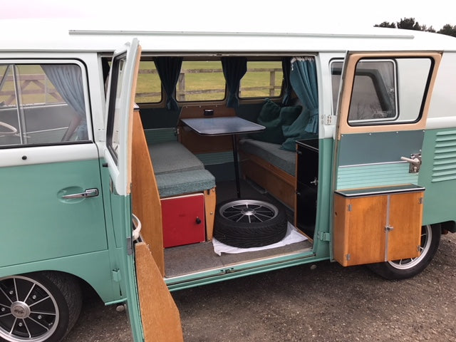 1963 RHD Split Screen Devon Interior - Extensive history