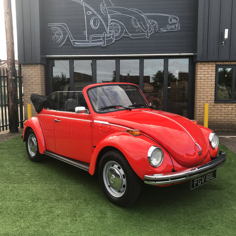 For Sale 1973 Karmann Convertible Beetle (74,000 miles)