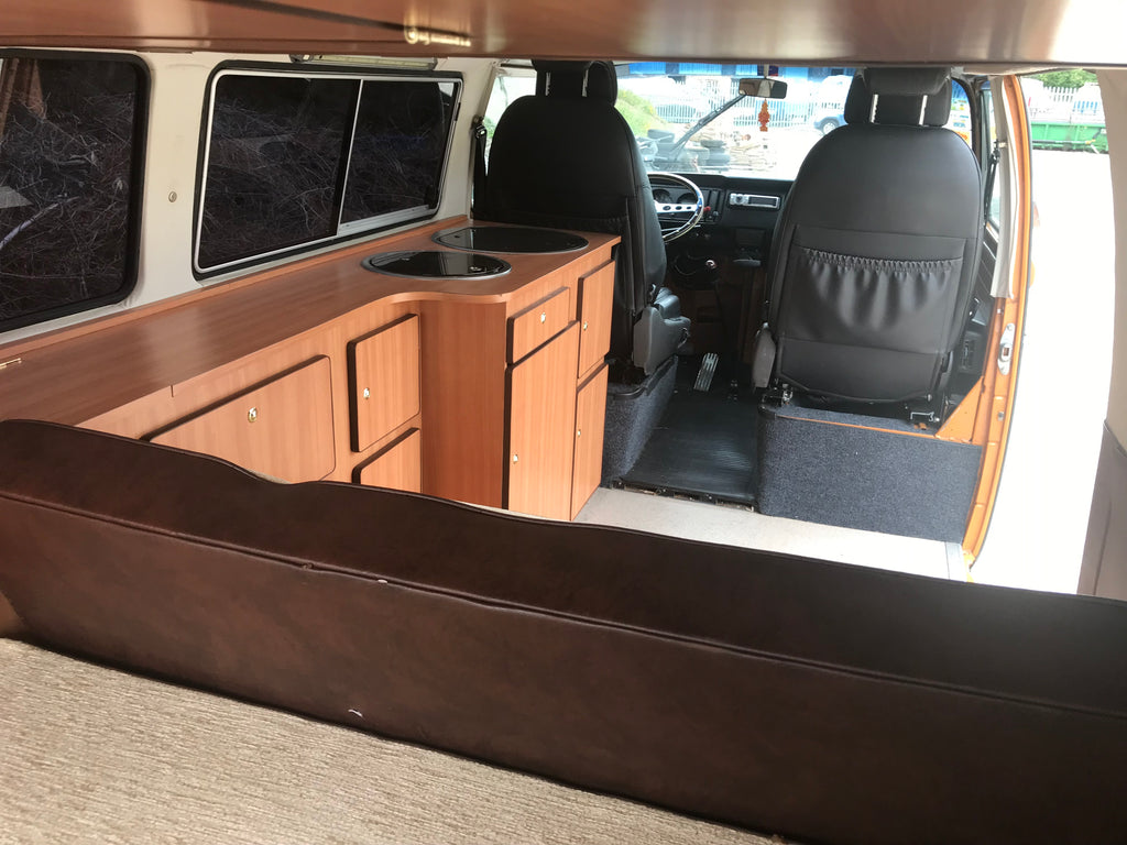 1978 Brown and Orange Project Bay Window Westfalia