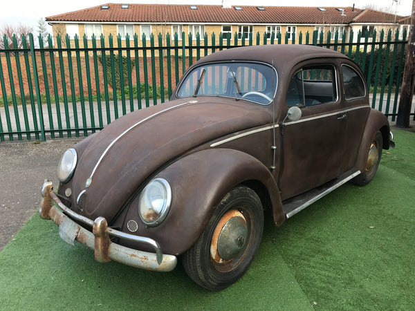 1955 Genuine Patin'd Oval Beetle