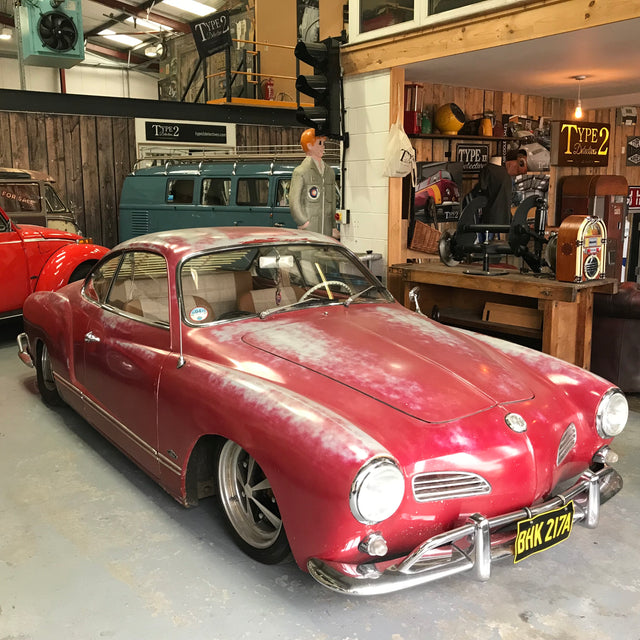 1963 Karmann Ghia - Amazing Patina