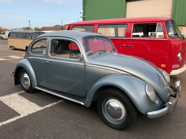 1958 RHD Matching Numbers Beetle
