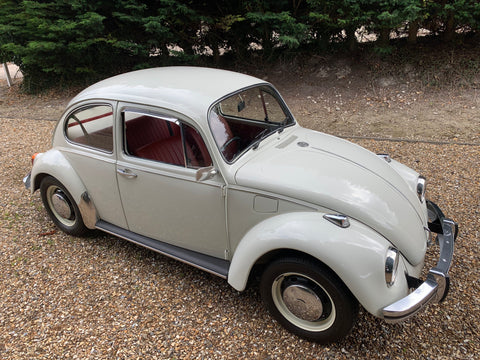 1969 RHD White Beetle - Excellent Condition