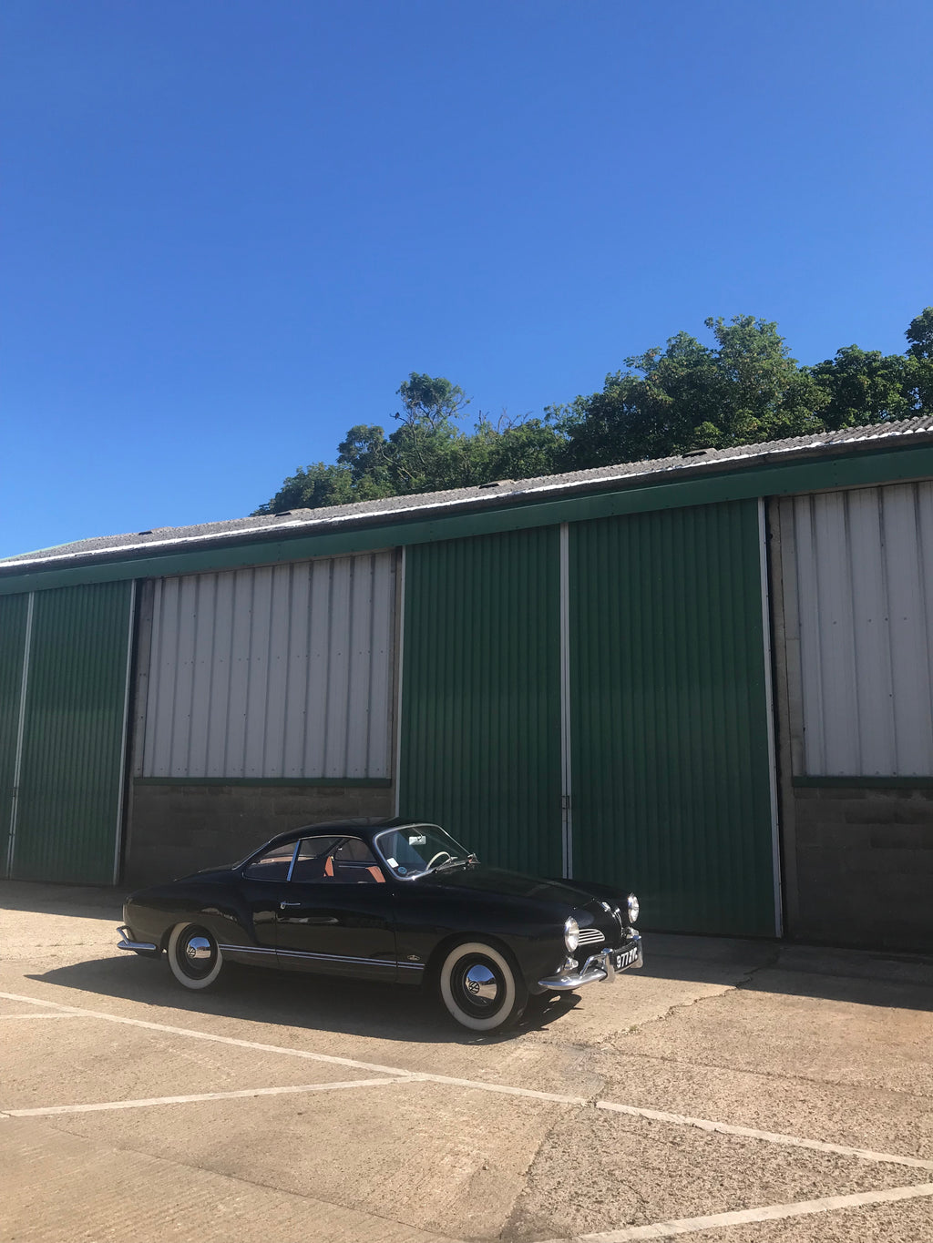 1960 Karmann Ghia - Great example with amazing aged paint