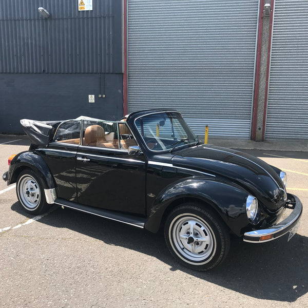 For Sale - Only 17,000 miles from new 1978 RHD Black Karmann
