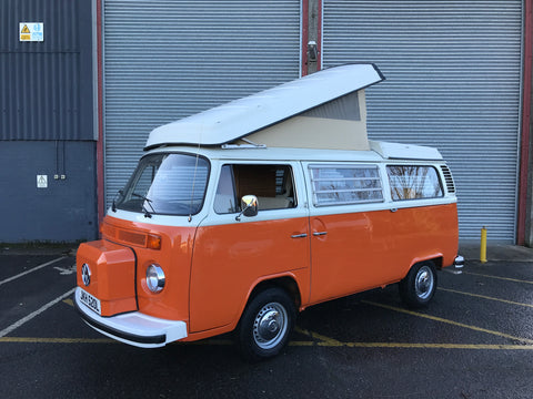 1973 RHD Late Bay Westfalia Continental Camper