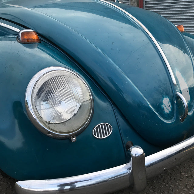 1965 Sea Blue Beetle
