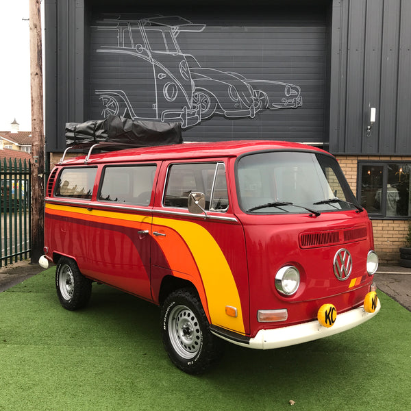 1970 Early Bay Deluxe Microbus Adventure Wagon