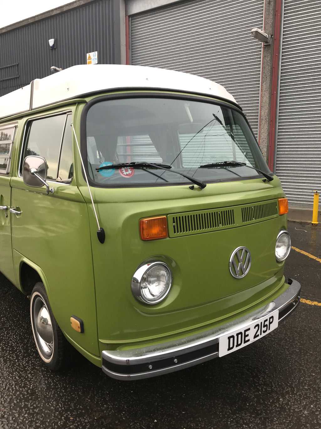 1975 LHD Automatic Late Bay Westfalia Camper