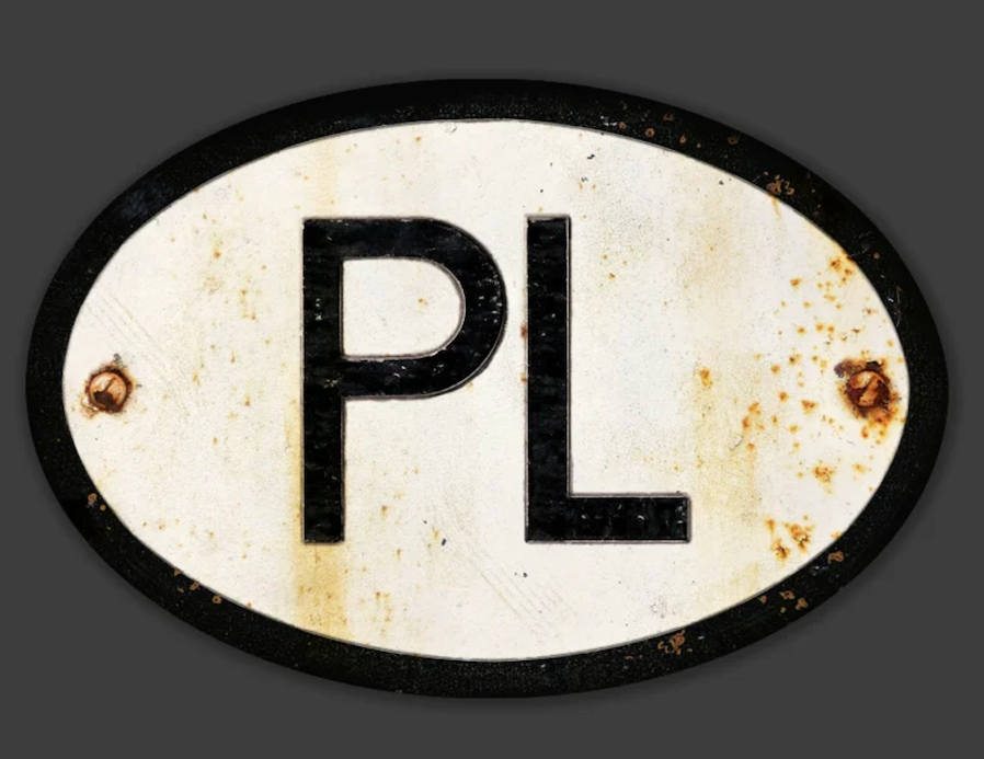 Auto Wares - Magnetic Country Patina'd ID badges