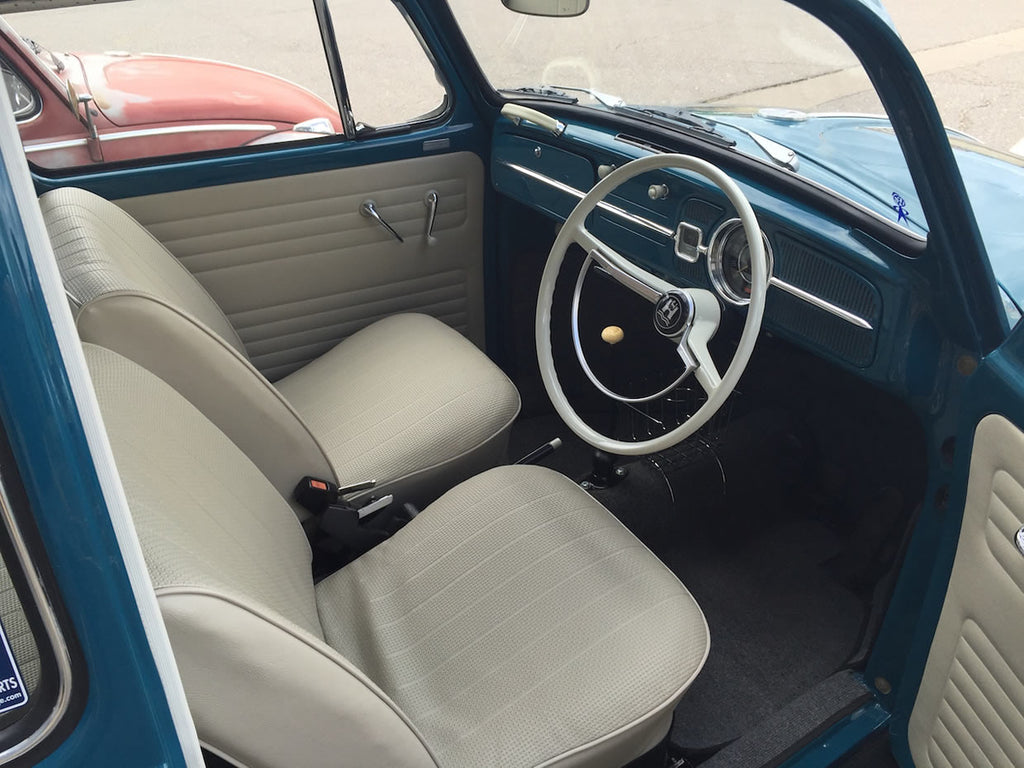 1966 Sea Blue Beetle