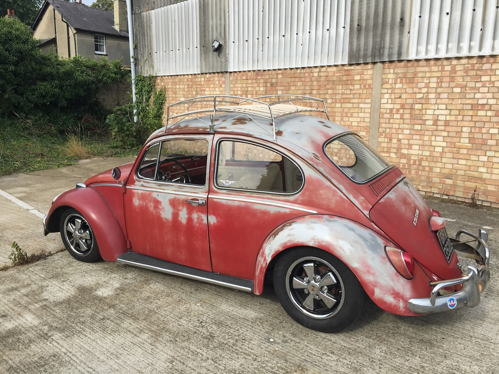 1966 Red Patina Beetle