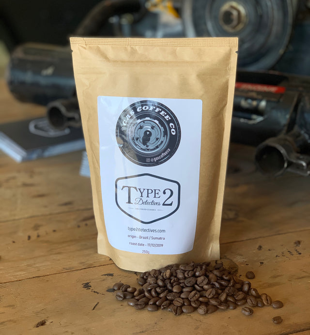 Type 2 Detectives Gas Coffee (Beans or Filter)