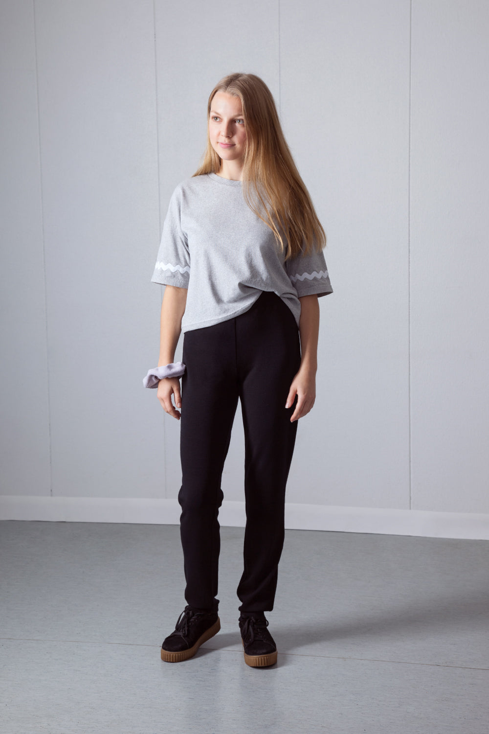 Shy Vibes Club Act Normal Pants, ethically made organic wool pants