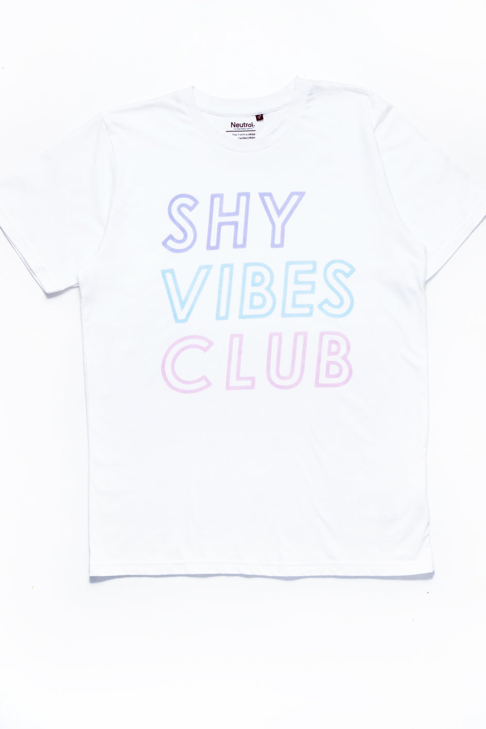 Shy Vibes Club - Tee |white|