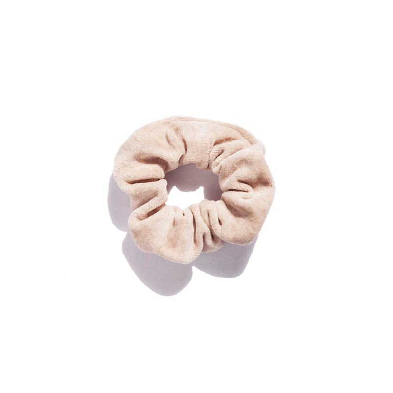 Shy Vibes Club organic cotton scrunchie GOTS
