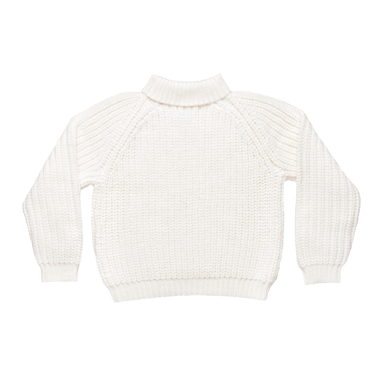 Shy Vibes Club Excellent Listener Knit White