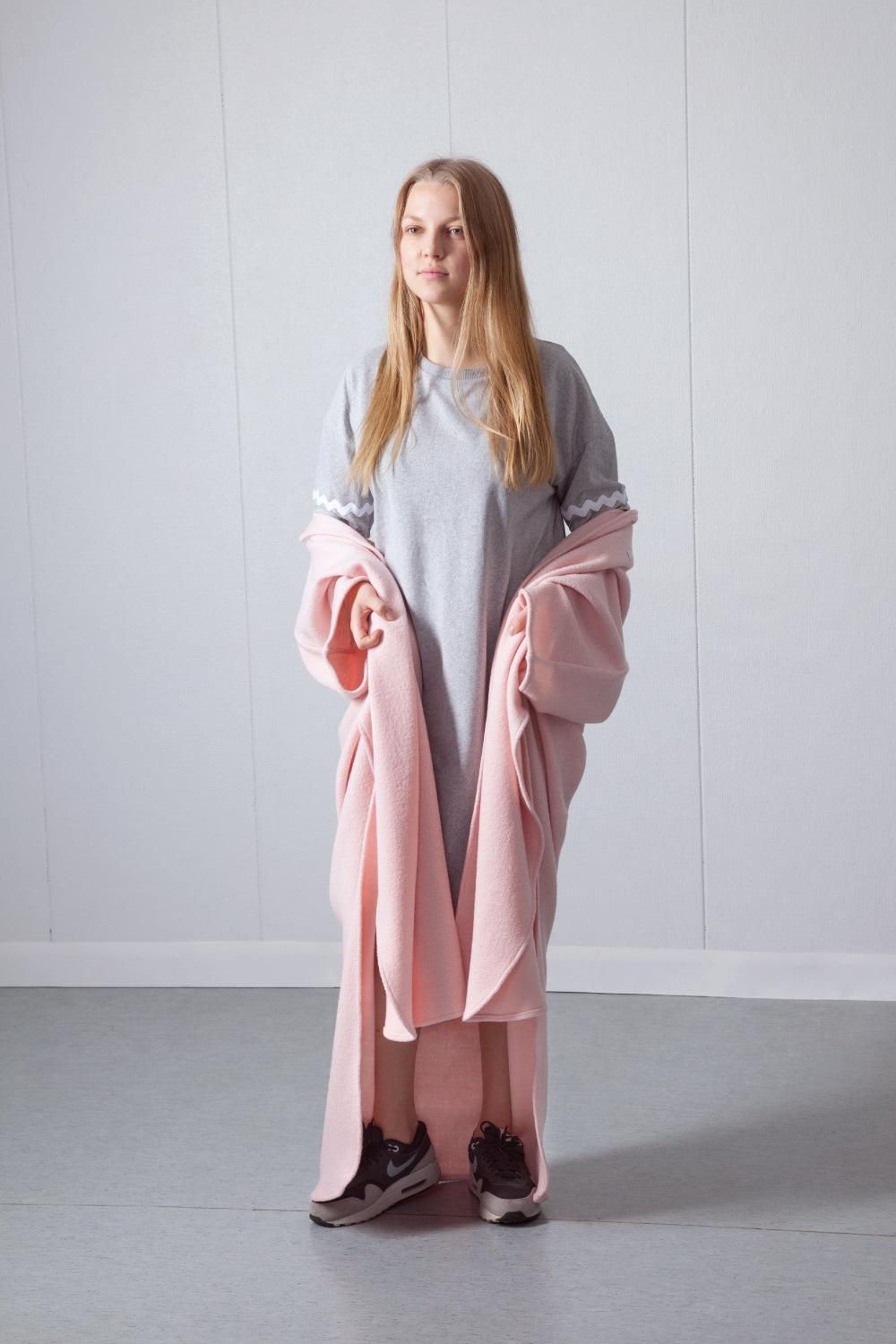 Power Poncho |pink|