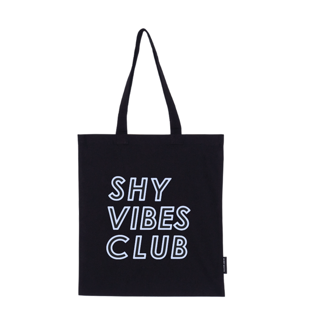 Shy Vibes Club tote bag |blue|