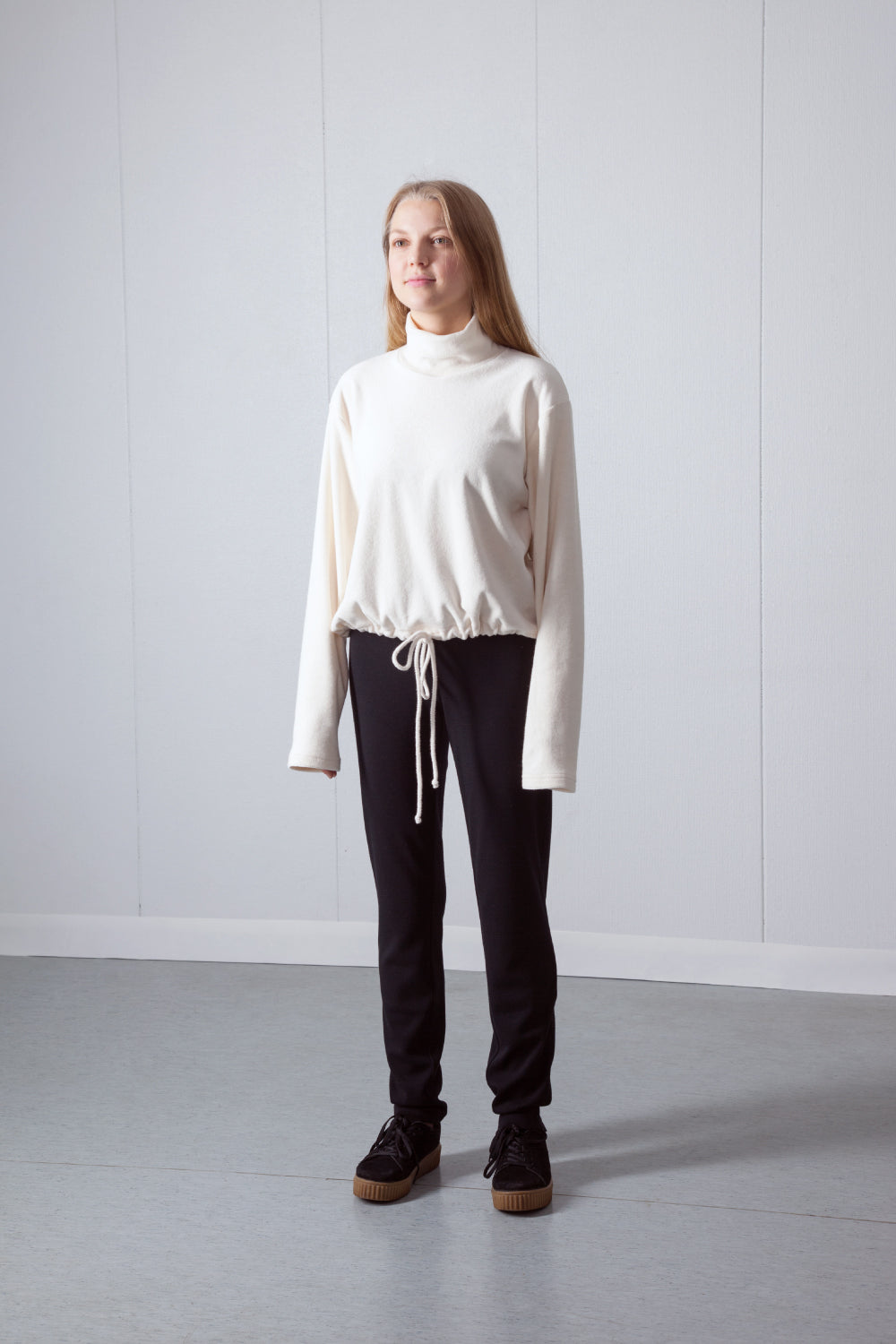 organic cotton college, ethically made in Estonia
