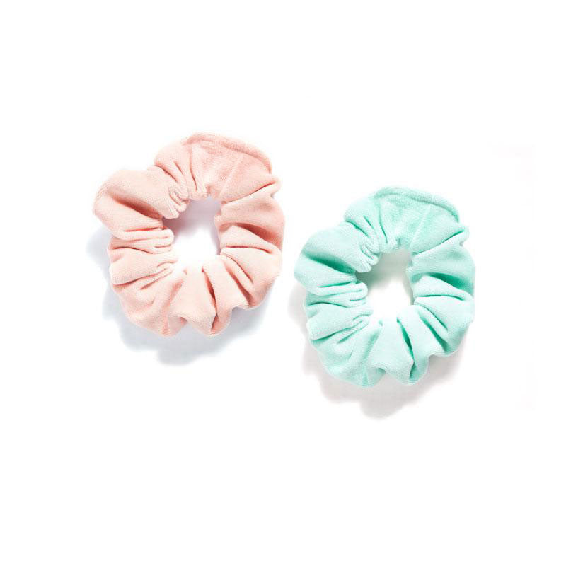 Scrunchie Set |pink & mint|