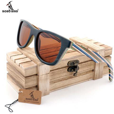 Wooden Women Sun Glasses