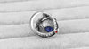 Image of  Big Sapphire Rings For Women Plating