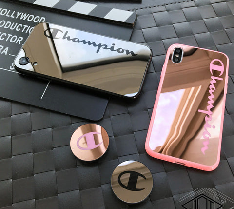 Champion Mirror Surface iPhone Phone Case