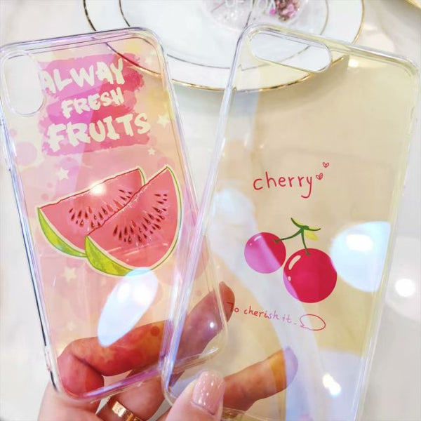 Always Fresh Fruits iPhone Phone Case