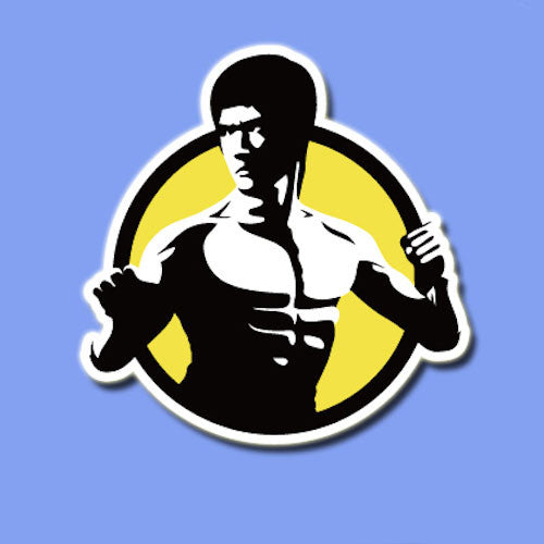 Bruce Lee Vinyl Sticker Decal