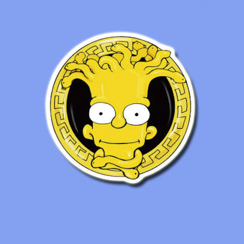Bart Simpson Vinyl Sticker Decal