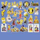 27 x The Simpsons Vinyl Sticker Pack