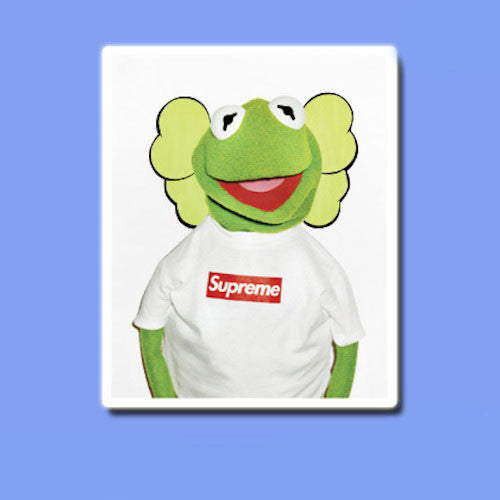 Supreme Kermit The Frog Vinyl Sticker Decal