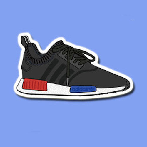 Adidas NMD Black Vinyl Sticker Decal