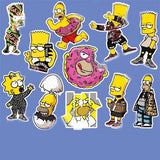 11 x The Simpsons Vinyl Sticker Pack