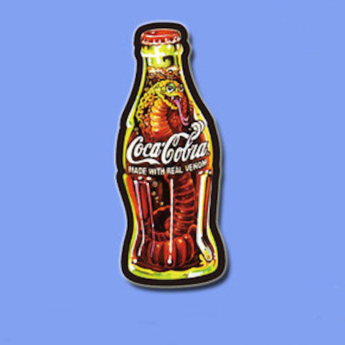 Coca Cola Bottle Vinyl Sticker Decal