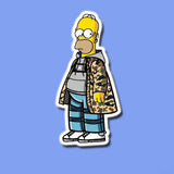 Homer Simpson Vinyl Sticker Decal