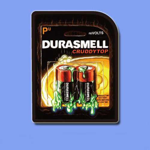 Durasmell Funny Vinyl Sticker Decal