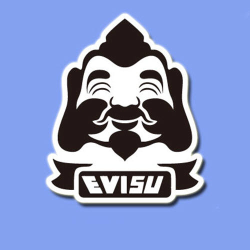 Evisu Vinyl Sticker Decal