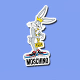 Moschino Bugs Bunny Vinyl Sticker Decal