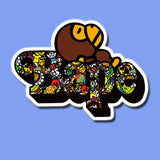 Baby Milo Bape Vinyl Sticker Decal