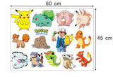 Pokemon Go Monsters Picacho Window Wall Stickers Decals