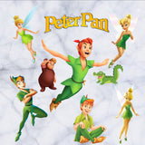 Peter Pan Cartoon Window Wall Stickers Vinyl Decals