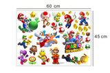 Mario 3D World Window Wall Stickers Vinyl Decals