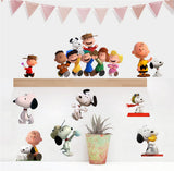 Snoopy Cartoon Window Wall Stickers Vinyl Decals