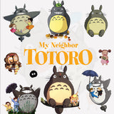 Totoro Cartoon Window Wall Stickers Vinyl Decals