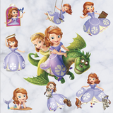 Princess Sofia Window Wall Stickers Decals