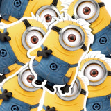 Minions Stuart Cartoon Vinyl Sticker Decal