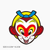 Monkey King Cartoon Vinyl Sticker Decal