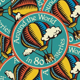Around The World In 80 Mysteries Vinyl Sticker Decal
